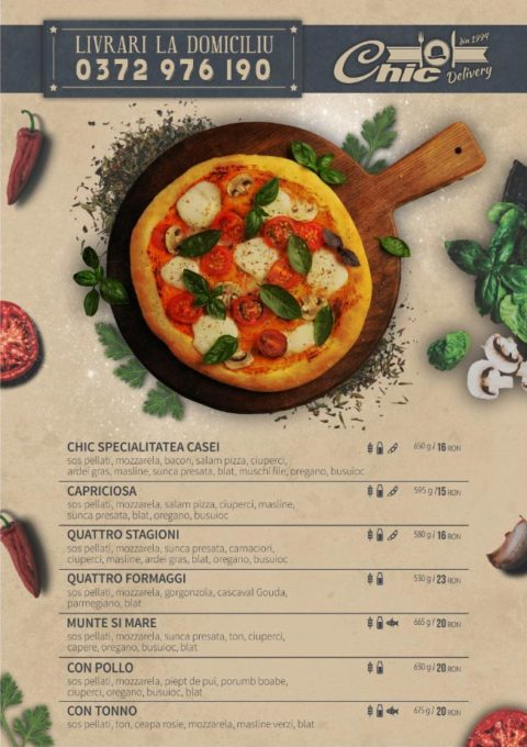 pizzeria chic pizza crocanta
